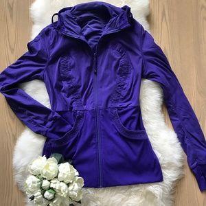 Lululemon Dance Studio Jacket in Purple Sz 12